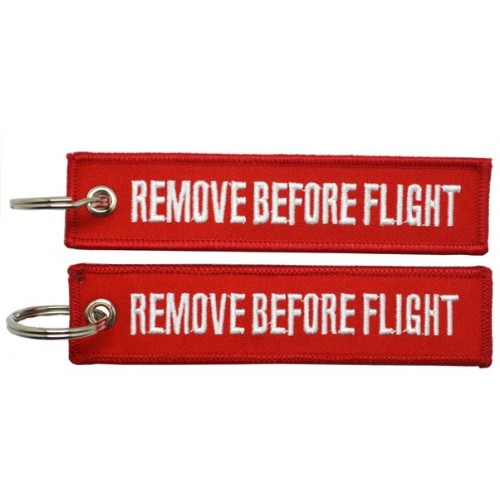Keyrings |Remove Before Flight