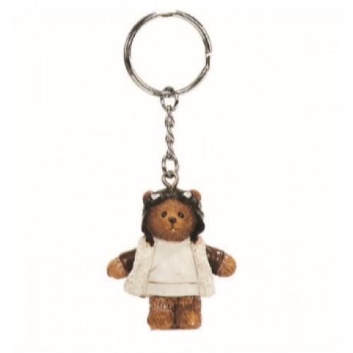 Keyrings |Pilot Bear poly
