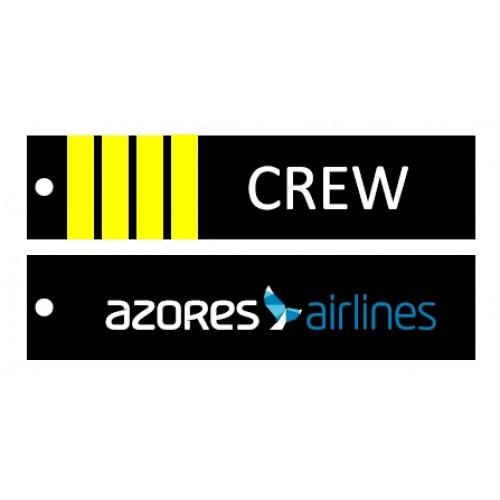 Porta-chaves Comandante | Azores Airlines