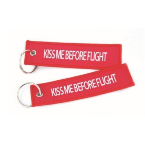 Keyrings |Kiss me before flight