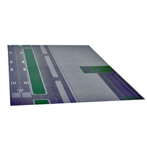 Esquema de pista geral para modelos 1:400 e 1:200