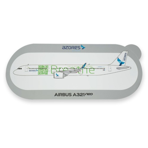 "Autocolante A321neo ""Breathe"""