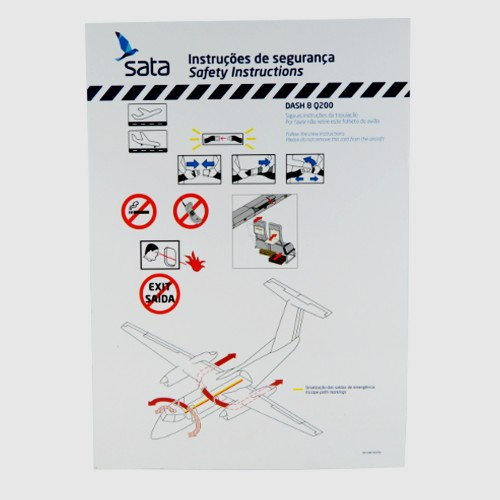 Safety Card Dash Q200 OD-CAB-003/01