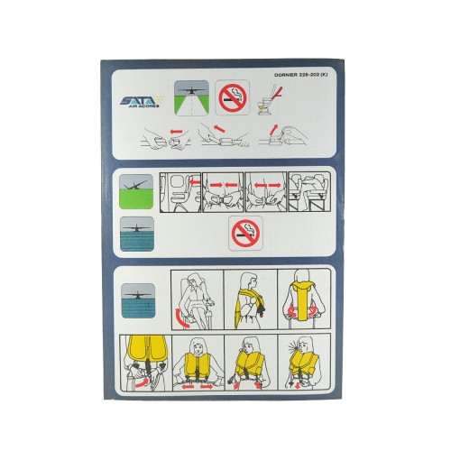 Safety Card Dornier 228