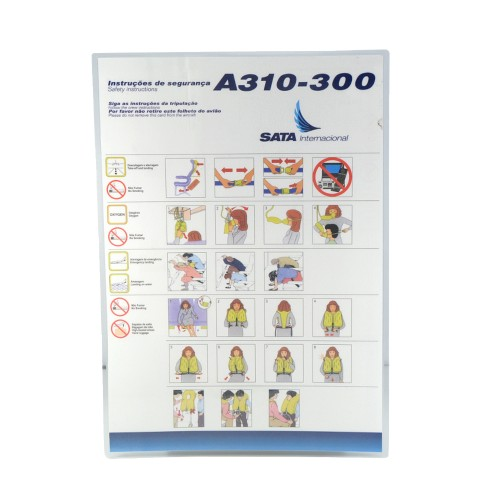 Safety Card A310 SATA Internacional