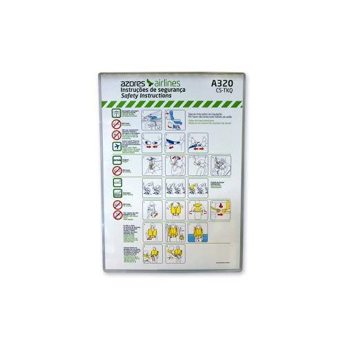 Safety Card A320 CS-TKQ OD-SGR-045/01 FEB16