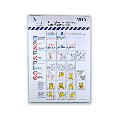 Safety Card A310 Mod. 090 Rev.01 Nov09