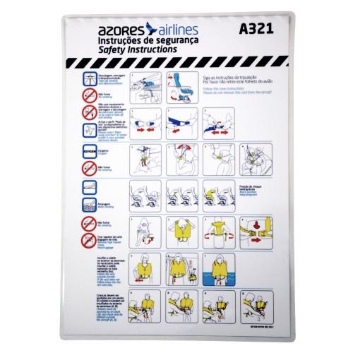 Safety Card A321 OD-SGR-047/01 DEC17