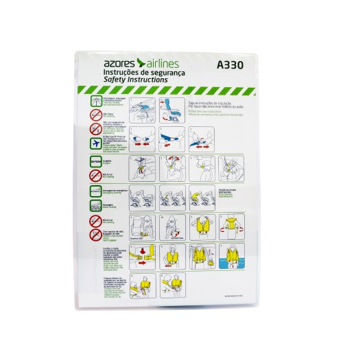 Safety Card A330 CS-TRY OD-SGR-044/01 OUT 2015