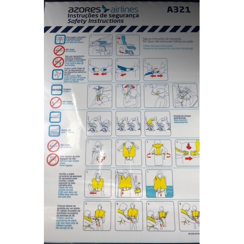 Safety Card A321