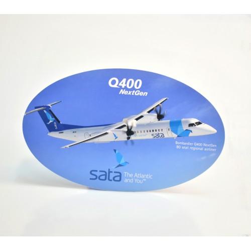 Autocolante Dash Q400