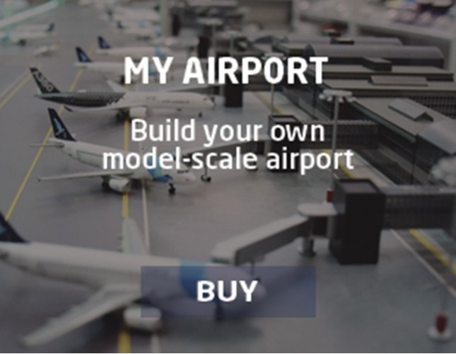 Build your own model scale airport