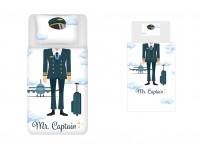 Captain Duvet Set SATA + Plush Azores Captain